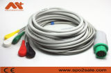 Schiller One-Piece 12pin Cable de ECG con derivaciones