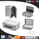 携帯用多機能の革宝石箱(8806R2)