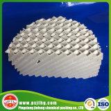 Embalagem ondulada cerâmica da placa