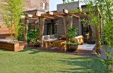Erba artificiale di paesaggio dell'erba