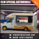Nueva gasolina Chang del diseño 4*2 Euro4 un helado/un café/alimentos de preparación rápida Vending el carro móvil del alimento
