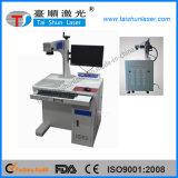 Máquina giratória da marcação do laser da fibra do sistema para a pena, anel, bracelete