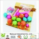 Glitter POM Pon de juguetes artesanales para decorar