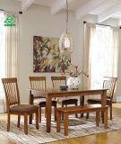 Diseño Berringer de la firma de los muebles de Ashley que cena la parte posterior del eje de rotación de la silla lateral