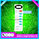 Clavier numérique portatif de silicones, commutateur de commande durable de membrane de silicones