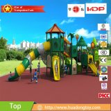 2017 New Mold Factory Kids Exercice Outdoor Playground Slide Equipment