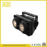 옥외 IP65 옥수수 속 2PCS*175W LED 가벼운 온난한 백색 곁눈 가리개 점화