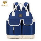 ミイラのための多機能のEcoの友好的な大きい容量のバックパックのおむつ袋