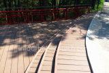 Nonslip босоногий деревянный составной пол Decking