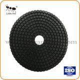Almofada de polir 125 mm Tipo de cor seja escolhida Aceitar Personalizar, polir para todos os tipos de pedras