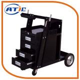 Welding 4 Wheel Delivery Tools Storage Cabinet Warehouse Steel Trolley