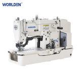 Wd-781 Holing Botão direto de alta velocidade de máquina de costura