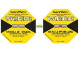 Het Etiket van de Waarschuwing van de botsing voor Medische Instrumenten