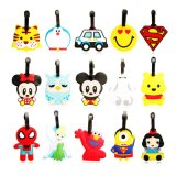 Customized Cartoon Cute Shape Tag Suitcase Standard Luggage Tag