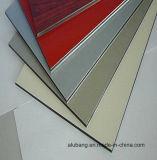 Hojas revestidas de aluminio del compuesto PVDF
