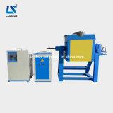 reductor del hierro gris 25kg que inclina el horno fusorio de la inducción