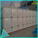 GRP de boa qualidade do tanque de armazenagem de água de fibra de Corte Transversal