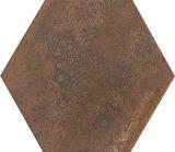 壁または床のための260*300によって錆ついた花のHegaxonの吹かれるセラミックタイル