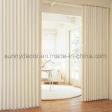 Porte de pliage en bois de PVC des prix d'usine bon marché de la Chine