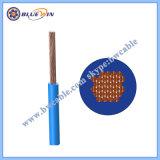 Fio de cobre elétrico Cu/PVC BT 450/750V