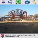 Atelier structural fabriqué par acier diplômée par ce pour l'usine de vêtements