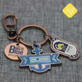 中国の製造業者の堅く柔らかい記念品のエナメルの金属Keychain
