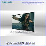 "60 ""Aluminiumlegierung 4K FernsehapparatATSC Dolbydigital Android 7.0 gebogener Fernsehapparat"