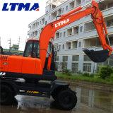 Новая модель 2017 Ltma землечерпалка 8.2 тонн для сбывания