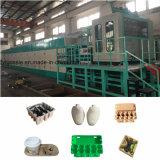 Bandeja de huevos de la bandeja de la zapata de bandejas de la máquina que hace la máquina Línea de producción