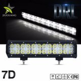 Super Bright 72W à double rangée 12inch lumière LED en barre