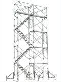 Armatura verniciata del blocco per grafici della scaletta per costruzione