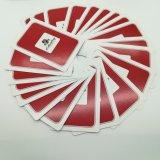 Aangepaste Speelkaarten met Embleem op de Achter en Individuele Beelden op Fornt ZijYh103