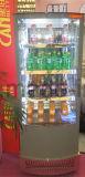 가득 차있는 측 유리제 문 음료 Coole 고품질 냉각기를 가진 강직한 전시 진열장