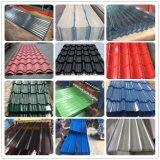Hojas de acero galvanizadas color esmaltadas antiguas del azulejo de material para techos del metal para la azotea