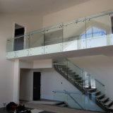 Конструкция балюстрады тупика стеклянная для нутряной загородки лестницы