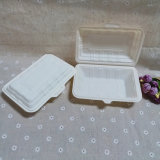 контейнер еды пластичной микроволны 650ml безопасный с крышкой
