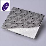 100 Mic PE лазерная резка пленки AISI 430 декоративных лист из нержавеющей стали