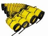 Трубопровод PVC желтого стандарта огнезащитный гибкий с носит мешок