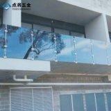 중국 내구재 발코니를 위한 외부 공단 표면 유리제 Baluster