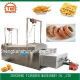Patatine fritte calde delle patatine fritte di vendita e patate fritte Frozen che friggono macchina