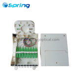 Sp-1602-8c Splitter de fibra óptica montados en la caja de bornes con adaptadores SC/APC