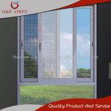 Бытового использования алюминия с двойными стеклами раздвижное окно с тремя контактами