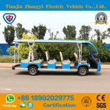 새로운 디자인 14 Seaters 세륨 증명서를 가진 전기 관광 근거리 왕복 버스