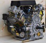 두 배 실린더 공냉식 디젤 엔진