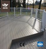 140*40 WPC creux bois Composite Decking terrasse extérieure en plastique