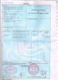 Il certificato di esportazione di trasporto per il Co, forma la a, il modulo la E, fumigazione