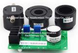 Le monoxyde de carbone du gaz CO capteur électrochimique de détection de 200 ppm de gaz toxiques avec filtre miniature