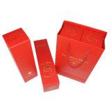 Коробка одиночного вина упаковывая бумажная с сусальным золотом Stampping