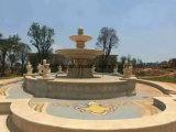 Jardin Piscine fontaines en pierre statue en marbre Fontaine à eau pour la vente