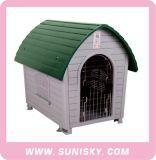Chambre de luxe d'animal familier de cage d'animal familier de crabot de Chambre de crabot de vente en gros en plastique de cage